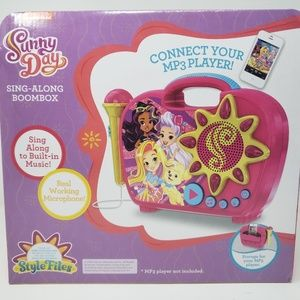 nickelodeon Other - Sunny Days Sing Along Boombox With Real Working